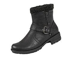 Ladies / Girls Black Ankle Boot  size 6 UK  **SALE**  HALF PRICE!!