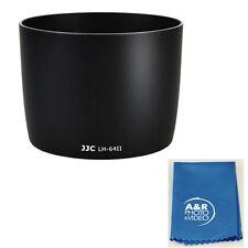 JJC LH-64II Lens Hood for Canon EF 75-300mm f/4-5.6 IS USM ET-64II +Cleaning Kit