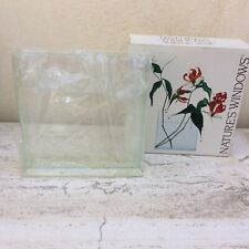 "Flower  Clear Vase Decorative Centerpiece For Home Or Wedding Flat  Plat 8"" X 8"""