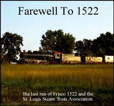 "Train Sound CD: St. Louis & San Francisco ""Frisco"" 4-8-2 #1522"