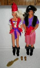 #6559 New Displayed Mattel Target Stores Halloween Party Barbie & Ken Dolls
