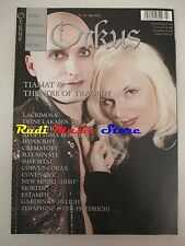 ORKUS MAGAZINE 03/2002 Tiamat & Theater of Tragedy Corvus Corax Crematory No cd