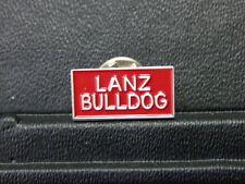 Pin Lanz Bulldog Logo Schild Trecker Traktor - 1 x 2  cm