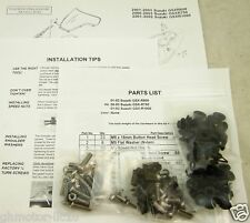 NEW 04 05 GSX-R 600 750 SILVER COMPLETE FAIRING BOLTS FASTENERS SCREWS KIT USA
