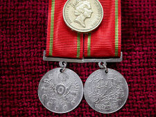 Replica Copy WW1 Turkish Liyakat Liakat Medal full size aged