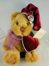 """Russ Bears from the Past Dutchess w Victorian Hat & Pillow Mint With Tag 8"""" Nice"""