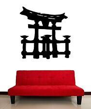 Asian Temple Ruins Chinese Gates Decor Wall Art Mural Vinyl Decal Sticker M461