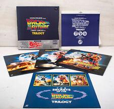 Back to the Future Trilogy Laserdisc PILF-1583 Box Japan Michael J Fox Zemeckis