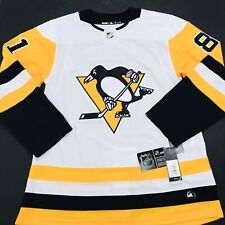Adidas Authentic Pittsburgh Penguins AWAY Kessel FIGHT STRAP Jersey sz 46 (456)