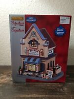 Lemax Signature Collection Pet Pics Photography Christmas Village #85391 NEW