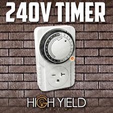 240 volt TIMER 24hr 1 Single Outlet 24 hour 240v Programmable Control FREE SHIP!