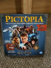 Harry Potter Pictopia Board Game Edition Wonder Forge Picture Trivia Cards 2018