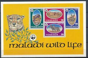 Wildlife: Minisheet - Malawi 1978 - MNH - SG# MS571