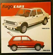 Zastava Yugo 45, 311, 511, 313 & 513 Brochure 1983