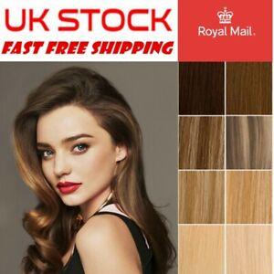 7A 1G Pre bonded Nano Ring+Stick I+Nail U Tip 100% Human Remy Hair Extensions UK