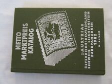 Netto Stamp Catalogue Central Europe, 1982, Excellent Condition
