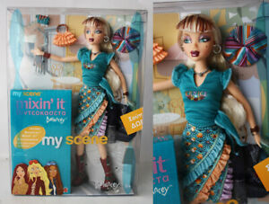 RARE 2003 MY SCENE HANGING OUT DELANCEY + MIXIN' IT VHS BARBIE MATTEL NEW SEALED