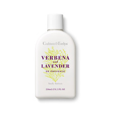 New Crabtree & Evelyn Rare Original Bottle 250ml Verbena & Lavender Body Lotion