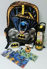 Batman Back to School Bundle Batman Backpack Batman Water Bottle Batman Pencils