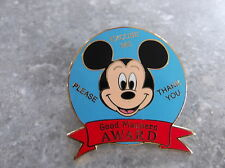 DISNEY DLR MICKEY MOUSE GOOD MANNERS AWARD PIN