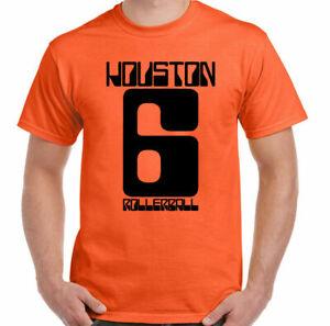 Rollerball T-Shirt Hommes Classique Culte 70's Sci-Fi Film Houston 6 Haut James