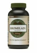 GNC Natural Brand Bromelain 500mg 60 Tablets