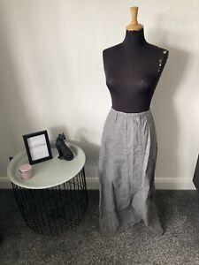 "Beautiful Per Una Denim Maxi Skirt Size 12 - (length 36"") Autumn Winter"