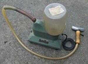 Vintage J-2 Jiffy Steamer with Metal Steam Head & Glass Water Jug