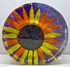 STUNNING GLASS SCULPTURE CAITHNESS SIGNED SARAH PETERSON