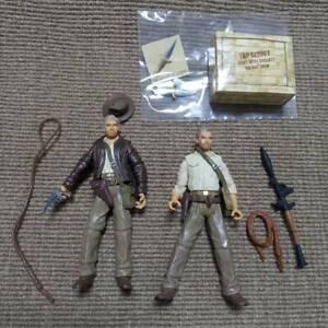 "2PCS Indiana Jones 3.75"" Kingdom of the Crystal Skull Figure Toy"