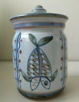Vintage Rare Linda Kinsman Blake - Scottish Ceramics Studio Pottery Lidded Pot
