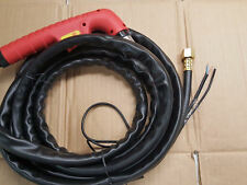 """Non-HF Arc Start Plasma Torch 13 Foot - 3 Wire - M16 + 1/2"""" Connector *US Ship*"""