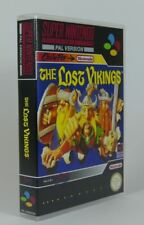 Super Nintendo SNES - Game Case - The Lost Vikings (PAL)