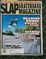 Slap Skateboard Magazine December 2002 Brandon Biebel Darrell Stanton Boulala