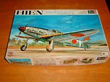"""Collectible 1/32 Scale VINTAGE 1972 Revell KAWASAKI Ki61 TONY """"HEIN"""" Kit #H-276"""