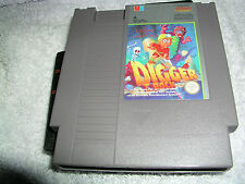 Nintendo Nes Digger T Rock  Game Cart    Pal