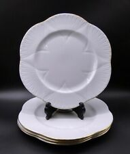by SHELLEY 6 PIECE PLACE SETTING OLEANDER with BRIGHT SHINY GOLD TRIM