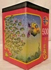 Heye 8331 Love Parade 500 piece jigsaw puzzle, C. Matt, 1997 triangle box