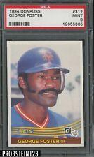 1984 Donrus #315 George Foster New York Mets PSA 9 MINT