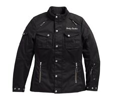 Harley-Davidson Messenger 3/4 textile Riding Veste Femmes Taille XL-Lady