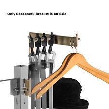 Metal Gooseneck Bracket in Satin Nickel Finish 12D x 12H Inches