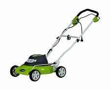 Greenworks Corded Electric Lawn Mower 18 Inch 12 Amp Motor Outdoor Garden New