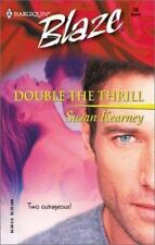 Susan Kearney / Double The Thrill Harlequin Blaze #50 2002 FICTION