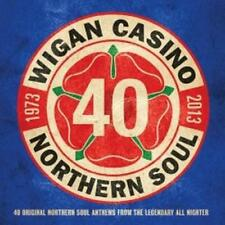 WIGAN CASINO 40TH ANNIVERSARY Various Artists NEW 2X CD (SPECTRUM) NORTHERN SOUL