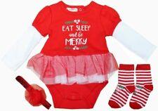 Baby Erstausstattung Set 3-teilig Geschenkset Set Weihnachten 0-3/3-6/ 6-9 Mon
