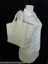 NWT FURLA Petalo/Soft White Saffiano Leather Small Jucca Stitch Tote Bag