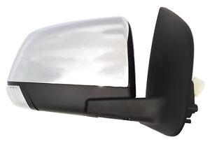 *NEW* DOOR MIRROR (CHROME LIGHT POWER FOLD) for ISUZU D-MAX DMAX 2012-2017 RIGHT