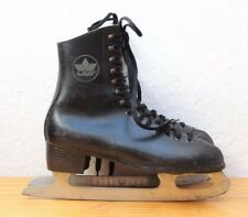 Vintage LICO Schlittschuhe Leder Gr. 36 West Germany Ice Crown