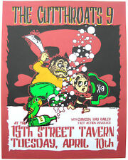 Cutthroats 9 Concert Poster Lindsey Kuhn