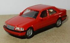 HERPA HO 1/87 MERCEDES-BENZ C-KLASSE C 220 ROUGE NO BOX bis